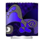 Possibilities Converge Shower Curtain