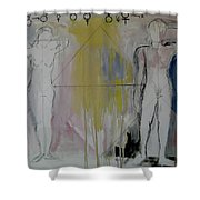 Possibility And Actuality Shower Curtain