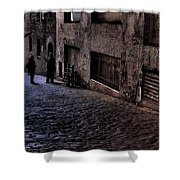Post Alley IIi Shower Curtain