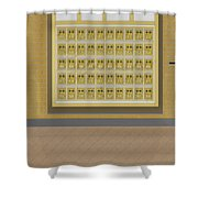 Post Office And Store At Ralston Shower Curtain