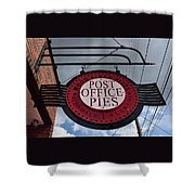 Post Office Pies Shower Curtain