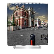 Post Office Shower Curtain