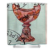 Postage 4 Shower Curtain