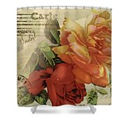 Postal Shower Curtain