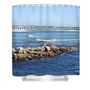 Postcard Perfect Shower Curtain