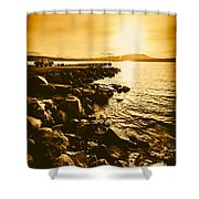 Postcard Perfect Tasmania Shower Curtain