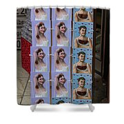 Postcards From Heidelberg Shower Curtain