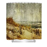 Postcards From Home Shower Curtain