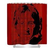 Poster Art Lennon Shower Curtain