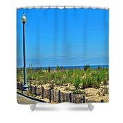 Posts Of The Sea Shower Curtain