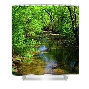 Potamac River In Maryland Shower Curtain