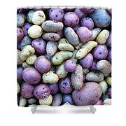 Potato Fest Shower Curtain