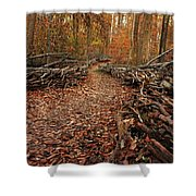 Potomac Heritage Trail Shower Curtain