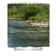 Potomac River Shower Curtain