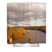 Potomac River Shower Curtain