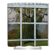 Potomac River Valley On Mount Vernon Shower Curtain