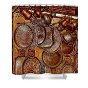 Pots And Pans Shop Or Is Jinni Home  Shower Curtain