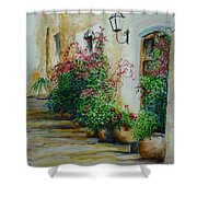 Pots And Plants  Shower Curtain