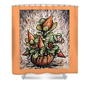 Potted Flower #2 Shower Curtain