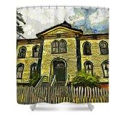 Potter Schoolhouse Shower Curtain