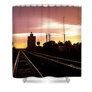 Potter Tracks Shower Curtain