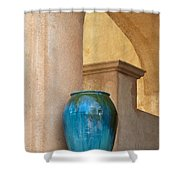 Pottery And Archways Shower Curtain by Sandra Bronstein