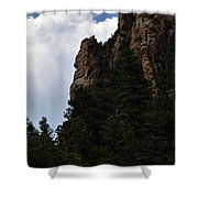 Poudre Canyon Shower Curtain