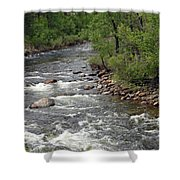 Poudre River 3 Shower Curtain