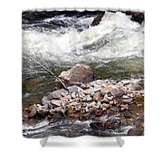 Poudre River 5 Shower Curtain