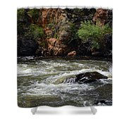 Poudre River 2 Shower Curtain