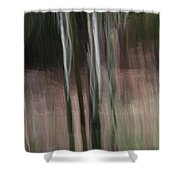 Pouring Down Shower Curtain