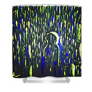 Pouring Rain And Light Shower Curtain