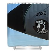 Pow Mia Rememberance Shower Curtain