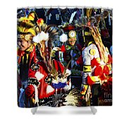 Pow Wow Beauty Of The Past 5 Shower Curtain
