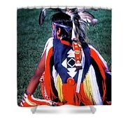 Pow-wow Colors Shower Curtain