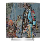 Pow Wow Competition Shower Curtain