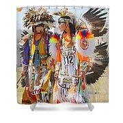 Pow Wow Contestants - Grand Prairie Tx Shower Curtain