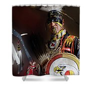 Pow Wow Portrait Of A Proud Man 2 Shower Curtain
