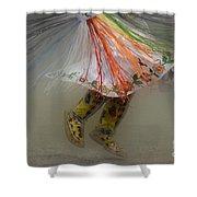 Pow Wow Shawl Dancer 4 Shower Curtain