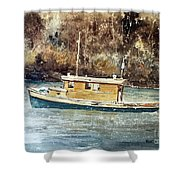 Powell River Canada Shower Curtain