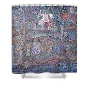 Power And Confusion In Universe Shower Curtain