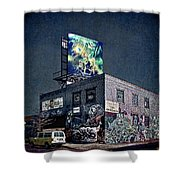 Power Brakes Shower Curtain
