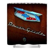 Power Glide Shower Curtain