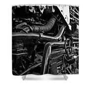Power In The Age Of Steam 7 Shower Curtain