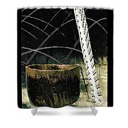 Power Lines Shower Curtain by Sarah Loft