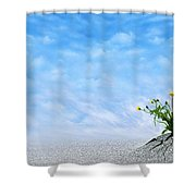 Power Of Life Shower Curtain