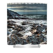 Power Of The Atlantic Shower Curtain