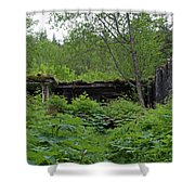 Power Plant In Summer Shower Curtain
