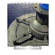 Power Platform #2 Shower Curtain