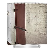 Power Room - Fort Desoto Florida Shower Curtain